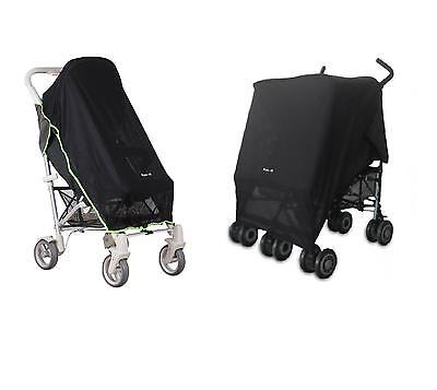 Koodi Koo-di Pack-it stroller buggy pushchair sun shade canopy DOUBLE or SINGLE