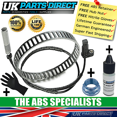 Bmw 1 Series Abs Reluctor Ring + Abs Sensor Kit (E81 E82 E87 E88) Rear - Abs3001