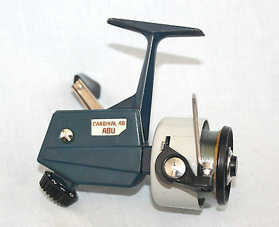 ABU Sweden the ABU Cardinal 40 spinning fishing reel in very fine condition