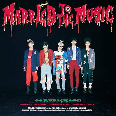 SHINEE 4TH ALBUM REPACKAGE [ MARRIED TO THE MUSIC ] kpop