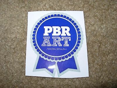 PABST BLUE RIBBON PBR ART Ribbon Logo STICKER decal craft beer brewery brewing