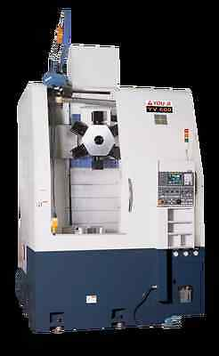 "YOU JI YV600A  with Fanuc 0iTD , 24"" chuck"