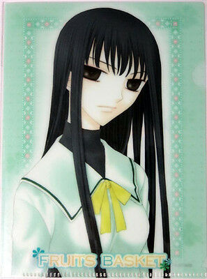 Fruits Basket Isuzu Mini Clear File Folder Plastic Anime NEW