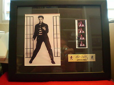 As New Original Elvis Presley Special Edition Filmcell Film Clip & Picture
