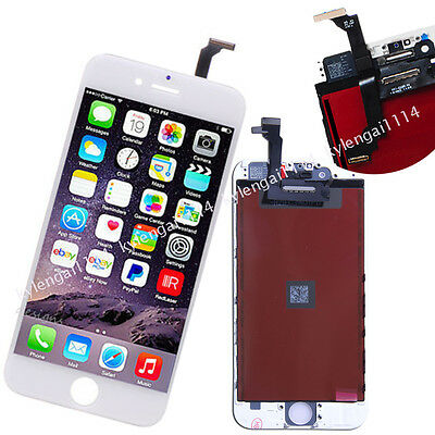 "iPhone 6 4.7"" White New LCD Display Screen Touch Digitizer Assembly Replacement"