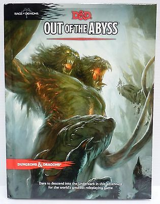 Dungeons&Dragons Next 5th Ed Out of the Abyss New WOTC D&D Adventure