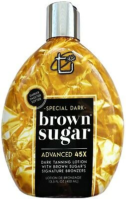 Tan Incorporated SPECIAL DARK BROWN SUGAR Advanced 45x Bronzer - Fast Dispatch