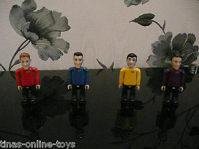 ***the Wiggles Articulated Figures Murray Anthony Jeff Sam/gregg***
