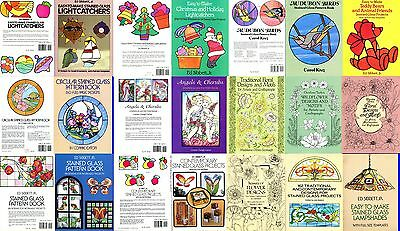 Dover and other Glass Painting Pattern Books