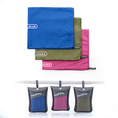 Camping Towel Ultralight Outdoor Travel Shower Bath Quick-Drying Hiking Caving