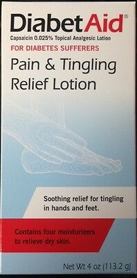 Diabetaid Pain & Tingling Relief Lotion 4 oz