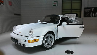 G LGB 1:24 Scale Porsche 911 Turbo 964 Detailed Welly Diecast Model Car 24023