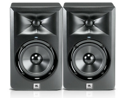 JBL LSR305 5 Inch Two Way Active Studio Monitor Speakers (Pair)