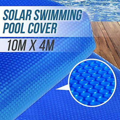 NO.1 10M x 4M Solar Swimming Pool Cover 500 Micron Blanket Heater Absorption