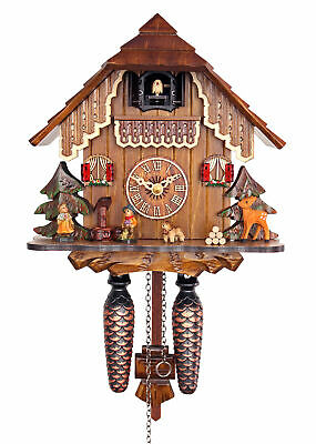 Adolf Herr Quartz Cuckoo Clock - The House in the Black Forest AH 19 QM NEW
