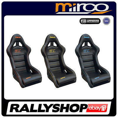 FIA APPROVED Mirco GT Racing Seat VINYL CHEAP AND FAST DELIVERY Tuning Race