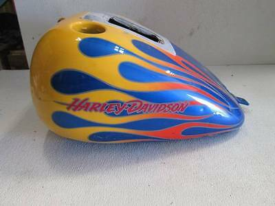 OEM Harley-Davidson 2000-2006 Softail Fuel Gas Tank. For carbureted & fuel injec