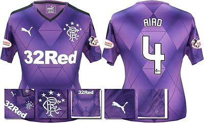 *15 / 16 - PUMA ; RANGERS 3rd KIT SHIRT SS + PATCHES / AIRD 4 = SIZE*
