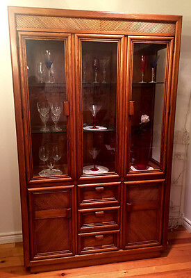 China Cabinet - Beautiful Antique Solid Oak