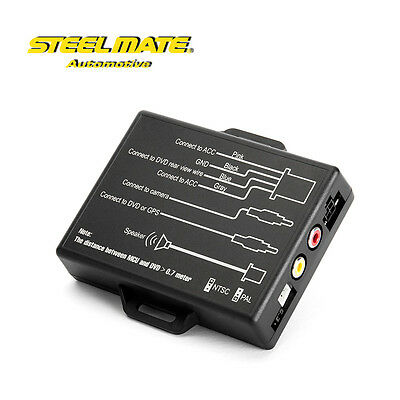 STEELMATE Pro Wireless TPMS Tire Pressure Monitoring System Built-in Sensor New