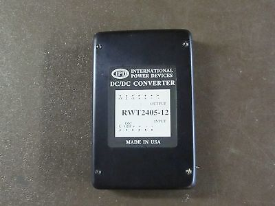 International Power Devices Rwt2405-12 Dc/Dc Converter New