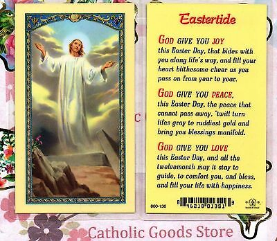 Eastertide - Laminated Holy Card