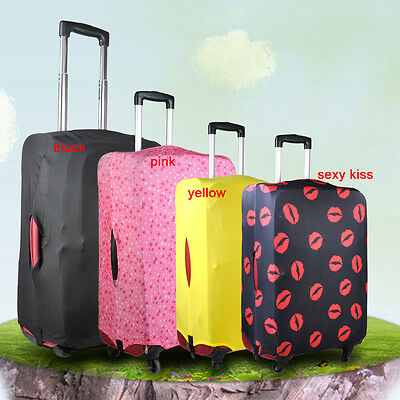 "20- 28"" Travel Elastic Luggage Protector Suitcase Cover Carrier Bag Anti scratch"