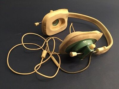 Vintage Clevite Brush Headphones Non-working Sold As Is