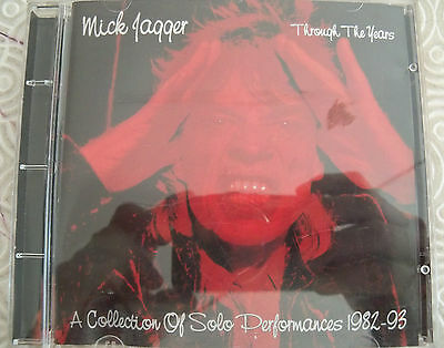 "Mick Jagger ""Through The Years"" Rare Collection Solo Performances Rolling Stones"