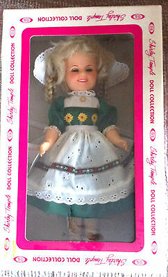 """Vintage Shirley Temple 8"""" Doll Heidi Ideal 1982 New In Box"""