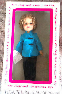 """Vintage Shirley Temple 12"""" Doll Stowaway Ideal 1982 New In Box"""