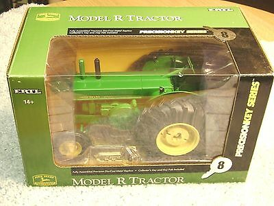 Ertl 1/16 John Deere Model R Precision Key Series #8 Tractor
