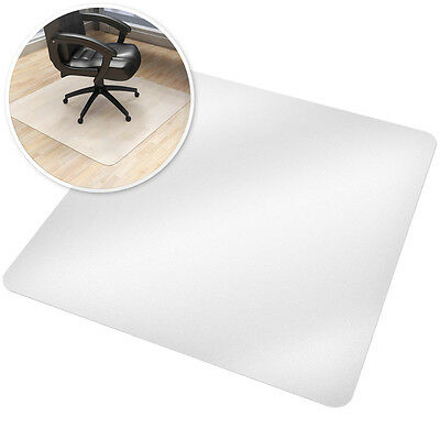 Office computer chair mat desk floor carpet protector plastic underlay 120x120cm