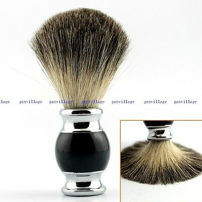 Luxury Best Pure Badger Hair Wet Shaving Brush Shave Razor Face Salon Tool NEW