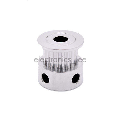 MXL 20T Gear Tooth Pulley Aluminum Alloy 5mm 8mm Inner hole for 6mm Timing Belt