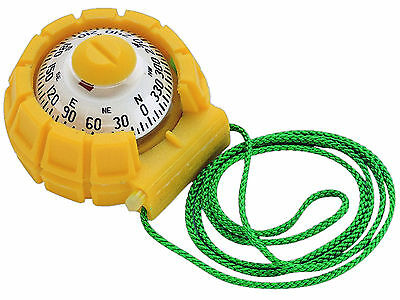 Marine Sportabout Yellow Handheld Bearing Compass for Boat & Rv - Ritchie