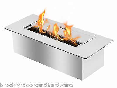 "Ignis Ethanol Burner ""EB1200"" Double Layer Stainless Steel - 1.5 Liter"
