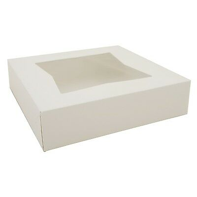 Southern Champion Tray 10 inch Pie Box with window 10x10x2.5  50 count