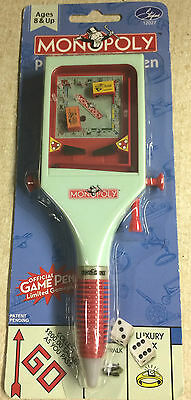 MONOPOLY Pinball Game Pen 2004 Stylus Hasbro New In Sealed Box