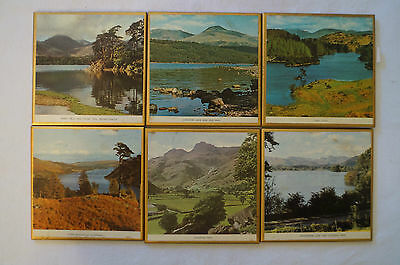 Collectable - Vintage - Group Lot of 6 - United Kingdom - Solid Coasters