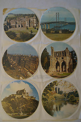 Collectable - Vintage - Group Lot of 11 - Plastic Coasters