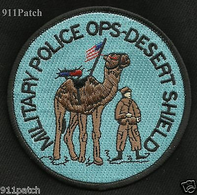 Military Police Ops - Desert Shield Patch