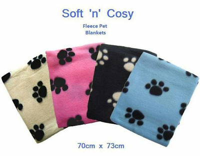 New Pet Touch Soft Fleece Pet Blanket Dogs & Puppy/Cat Blanket For Car Home
