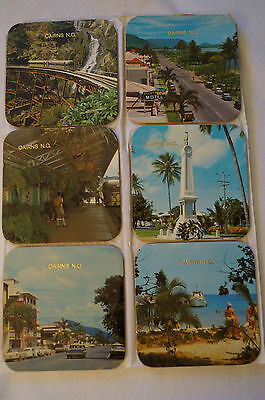 Collectable - Vintage - Group Lot of 12 -Cairns-Surfers Paradise-Solid Coasters