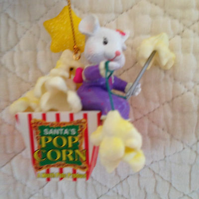 Matrix - Mouse with Popcorn Christmas  Ornament