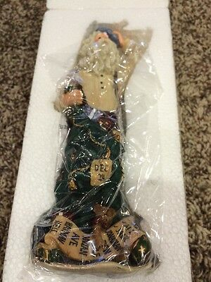 """Boyds Holiday Santa """"Poor Ol' Stressnick.. Running Out of Time"""" #28015  NIB 1E/"""