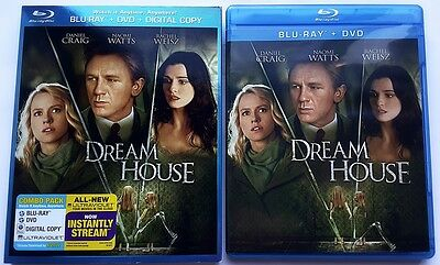 Dream House Blu Ray + Dvd 2 Disc Set With Slipcover Sleeve Free World Shipping