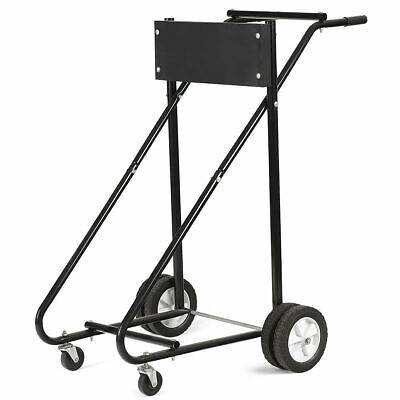 315 Lbs Outboard Boat Motor Stand Carrier Cart Dolly Storage Pro