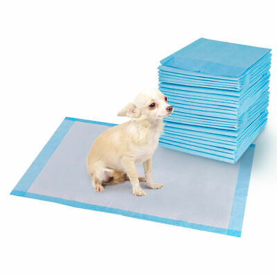 100 PCS 30'' x 36'' Puppy Pet Pads Dog Cat Wee Pee Piddle Pad training underpads