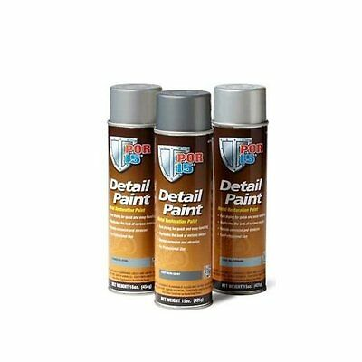 POR 15 41818 Stainless Steel Restoration Detail Paint -1Can Aerosol 15oz Each